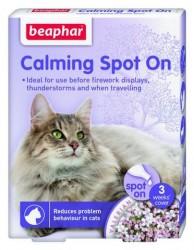 Beaphar - Beaphar Calming Spot On Kedi Sakinleştirici 3 Kapsül x 0,4 ml