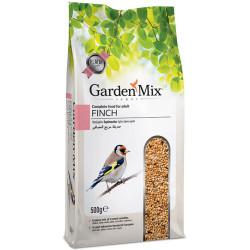 Garden Mix - GardenMix Platin Finch - İspinoz Yemi 500g