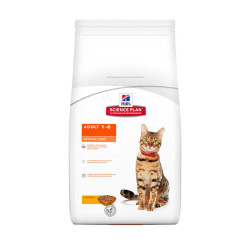 Hills - Hills Adult 1-6 Optimal Care Tavuklu Yetişkin Kedi Maması 5 Kg
