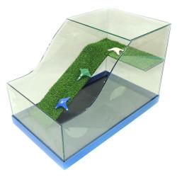 Fatih-Pet - Kaplumbağa Bahçesi Cam Akvaryum Büyük