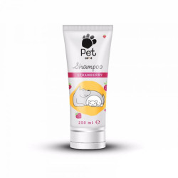 Pet Love - Pet Love Strawberry Çilekli Kedi-Köpek Tüp Şampuan 250 ml