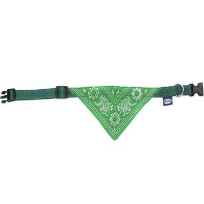 S Bandana Tasma Yeşil 19 mm/35-50 cm