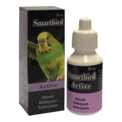 Smartbird - Smartbird Active Kuş Mineral ve Selenyum Takviyesi 30cc/6 lı